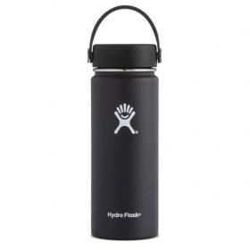 ハイドロフラスク HYDRATION WideMouth 18oz Black (5089023 20) : ブラック 水筒 Hydro Flask