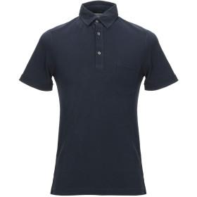 《セール開催中》ZANONE メンズ ポロシャツ ダークブルー S コットン 100%