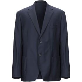 《期間限定セール開催中!》BRERAS Milano メンズ テーラードジャケット ダークブルー 62 バージンウール 100%