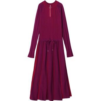 [PAMEO POSE]Pleated Knit Dress