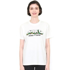 [マルイ] 【ユニセックス】Tシャツ/タイポグラフィーサンドウィッチ/グラニフ(graniph)
