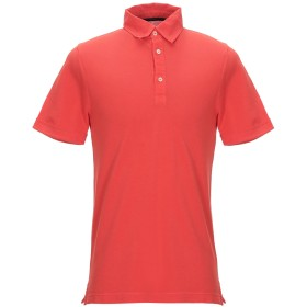 《セール開催中》ZANONE メンズ ポロシャツ オレンジ S コットン 100%
