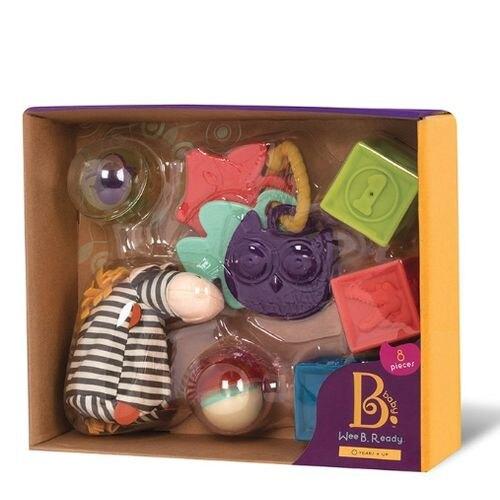 美國【B.Toys】捲尾斑馬玩瘋了(盒裝)BX1569Z★衛立兒生活館★