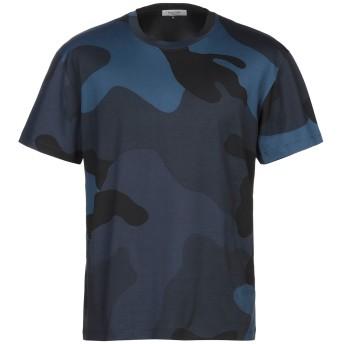 《期間限定セール開催中!》VALENTINO メンズ T シャツ ブルー L コットン 100%