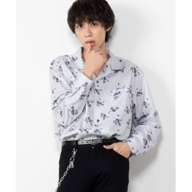 [マルイ]【セール】Rose総柄開襟シャツ/ウィゴー(メンズ)(WEGO)