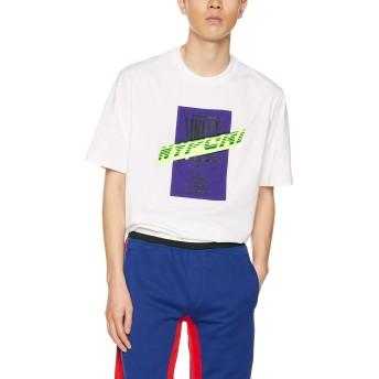 (ディーゼル) DIESEL メンズ Tシャツ グラフィックTシャツ 00SSPD0HARE S ホワイト 100