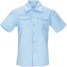 《期間限定セール開催中!》JULIEN DAVID レディース デニムシャツ ブルー S コットン 100%
