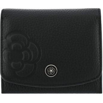 [クレイサス] 二つ折り財布 BOX型小銭入れ ラデュレ2 レディース 【10】ブラック
