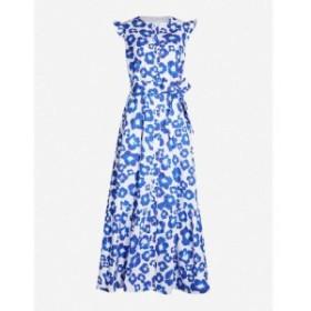 ノア ド ボルゴ BORGO DE NOR レディース ワンピース ワンピース・ドレス Gabriella floral-print flared-sleeve cotton dress Floral po