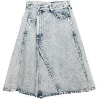 《セール開催中》PROENZA SCHOULER レディース デニムスカート ブルー 4 コットン 100%
