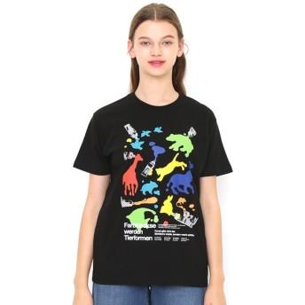 [マルイ] 【ユニセックス】Tシャツ/アニマルインザフォームオブペイント/グラニフ(graniph)