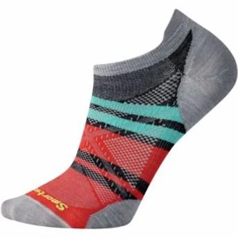 スマートウール Smartwool メンズ ランニング・ウォーキング PhD Run Ultra Light Pattern Micro Sockss Light Gray