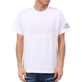 [ノートン] Norton Tシャツ ドッグ ノートン エンボス TEE 192N1005 ホワイト M