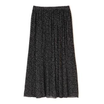 HUMAN WOMAN 《arrive paris》消しプリーツスカート ひざ丈スカート,ブラック3