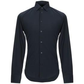 《期間限定セール開催中!》BRIAN DALES メンズ シャツ ダークブルー 37 コットン 80% / ナイロン 15% / ポリウレタン 5%