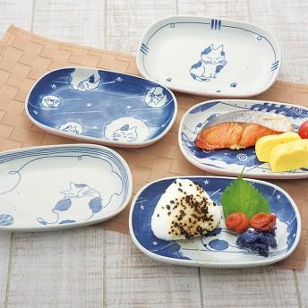 ベルーナインテリア 子猫の一日朝食皿(5柄組) 1 1