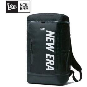 NEWERA ニューエラ ボックスパック 26L プリントロゴ ブラック × ホワイト 11901528 【リュック/バックパック/アウトドア】