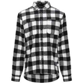 《期間限定セール開催中!》RVLT/REVOLUTION メンズ シャツ ブラック M ポリエステル 90% / ウール 10%