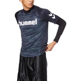 [ヒュンメル] サッカーウェア レイヤードプラクティスシャツセット [メンズ] HAP7116 インディゴネイビー (71) 日本 M (日本サイズM相当)
