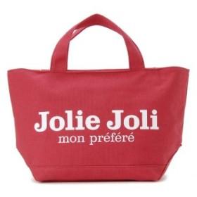 (s-select/エスセレクト)Jolie Joli ジョリージョリ トートバッグ JJ-2018996 キャンバスバッグ PM [M] レディース/レディース レッド
