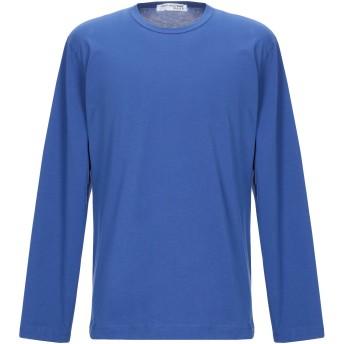 《期間限定セール開催中!》COMME des GARONS SHIRT メンズ T シャツ アジュールブルー XL コットン 100%