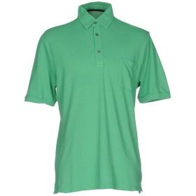 《期間限定セール開催中!》ZANONE メンズ ポロシャツ ライトグリーン S コットン 100%