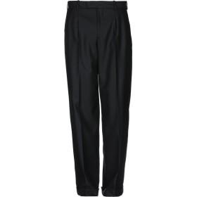 《期間限定 セール開催中》BURBERRY メンズ パンツ ブラック 46 ウール 70% / モヘヤ 30%