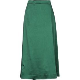 《セール開催中》THEORY レディース 7分丈スカート グリーン 2 アセテート 49% / ウール 27% / レーヨン 24%