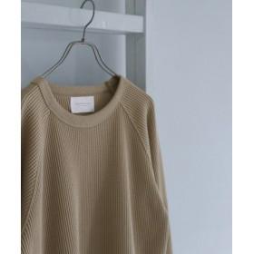 (URBAN RESEARCH DOORS/アーバンリサーチドアーズ)ULTRA THERMO ワッフルロングスリーブTシャツ/メンズ BEIGE