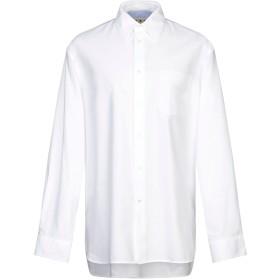 《セール開催中》MARNI メンズ シャツ ホワイト 54 コットン 100%