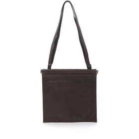 PATRICK STEPHAN Leather shoulder bag 'spring closure' ショルダーバッグ,C.GRAY