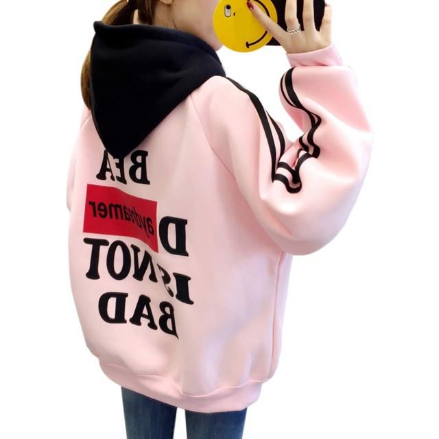 WENHAI秋冬 森ガール パーカー レディース 裏起毛 長袖 トップス コート春 可愛い 無地 スウェットパーカー ゆったり かわいい シンプル 原宿系 上着ファッション 韓国 個性 プルオーバー 通勤 通学