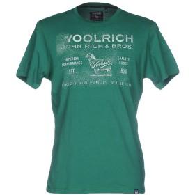 《セール開催中》WOOLRICH メンズ T シャツ グリーン L コットン 100%