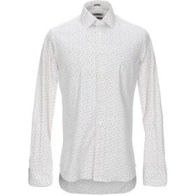 《期間限定セール開催中!》RODA メンズ シャツ ホワイト 41 コットン 100%
