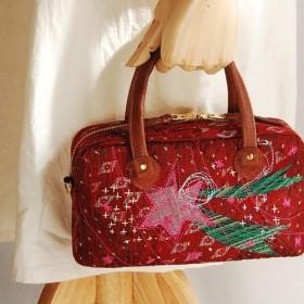 【送料無料】「流れ星」ミニハンドバッグ 'Sooting Ster' Mini Hand Bag