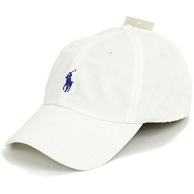 (ポロ ラルフローレン) POLO Ralph Lauren キャップ CAP 帽子 ハット メンズ レディース PONY ポニー ワンポイント (WHITE) … [並行輸入品]