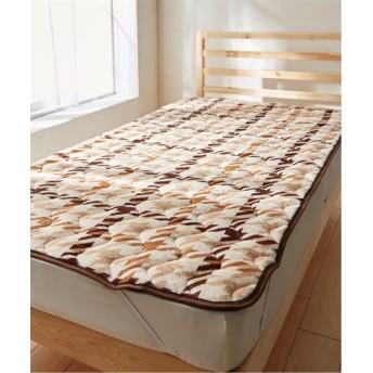 吸湿発熱あたたか敷パッド(静電気軽減。ふっくら) 敷きパッド・ベッドパッド