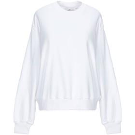 《9/20まで! 限定セール開催中》CHEAP MONDAY レディース スウェットシャツ ホワイト XS コットン 97% / ポリウレタン 3%