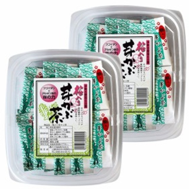 梅入りめかぶ茶 (2g×30袋入)×2パック (特産横丁×全国の珍味・加工品シリーズ) 三重県 伊勢 志摩 お土産