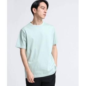 (ティーケー タケオキクチ) tk.TAKEO KIKUCHI シルケットスムースTシャツ(半袖) 17036300 02(M) ライトグリーン(021)