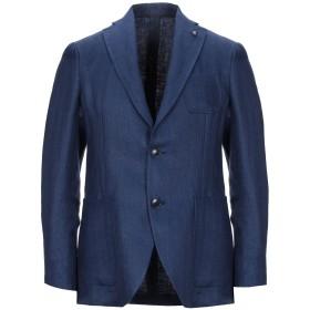 《期間限定セール開催中!》SARTORIA LATORRE メンズ テーラードジャケット ブルー 48 麻 100%