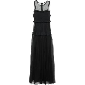 《セール開催中》RELISH レディース ロングワンピース&ドレス ブラック XS ポリエステル 100%
