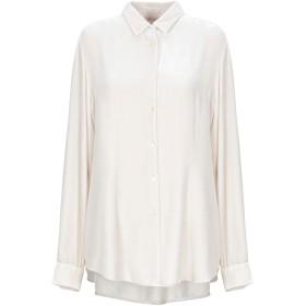 《セール開催中》HER SHIRT レディース シャツ ライトグレー XL 82% レーヨン 18% シルク
