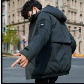 韓國スタイル上著厚く綿服 ダウンジャケット ビッグサイズ 厚手 アウターコート 通勤コート  冬季著 人気メンズファッション フ