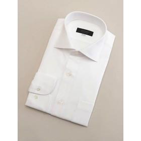 <ダーバン/DURBAN> 【D'URBAN BLACK】ワイドホワイトドビーストライプドレスシャツ(3609421310) ホワイト 【三越・伊勢丹/公式】