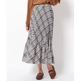 THE SHOP TK(Women)(ザ ショップ ティーケー(ウィメン)) 裾消しプリーツスカート
