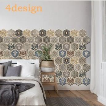 ウォールステッカー ウォールシール 壁シール 壁紙シール 壁面装飾 壁装飾 室内装飾 北欧 カフェ レンガ調 おしゃれ