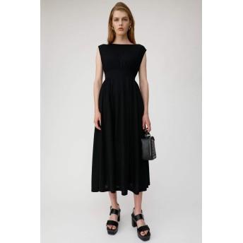 [マウジー] ワンピース ドレス BACK RIBBON ロングドレス 010CAH80-5070 FREE ブラック レディーズ