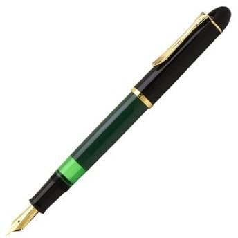 ペリカン PELIKAN 万年筆 特別生産品 M120 グリーンブラックGT EF/F/Mサイズ M120-EF/M120-F/M120-M
