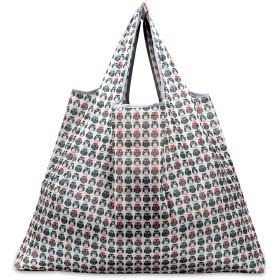 折りたたみ買い物袋 防水素材 (フクロウ)